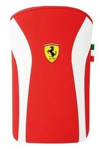 Ferrari Scuderia V2 pouzdro Red/White pro iPhone 4