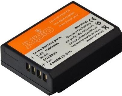 Jupio baterie LP-E10 /NB-E10 pro Canon