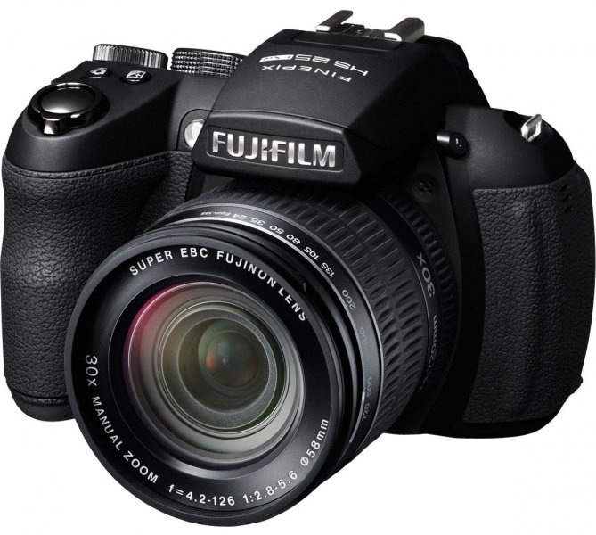 FUJIFILM FinePix HS25 black