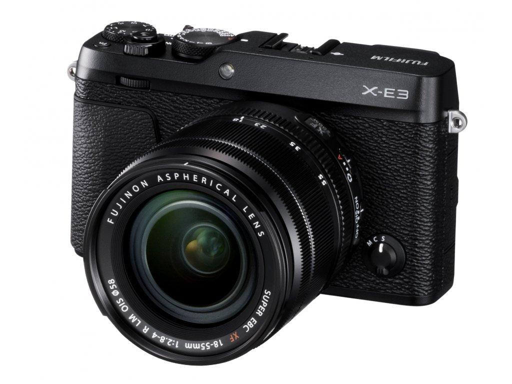 FUJIFILM X-E3 black + XF18-55 mm
