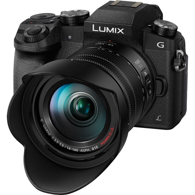 Panasonic LUMIX DMC-G7 black + 14-140mm F3.5-5.6