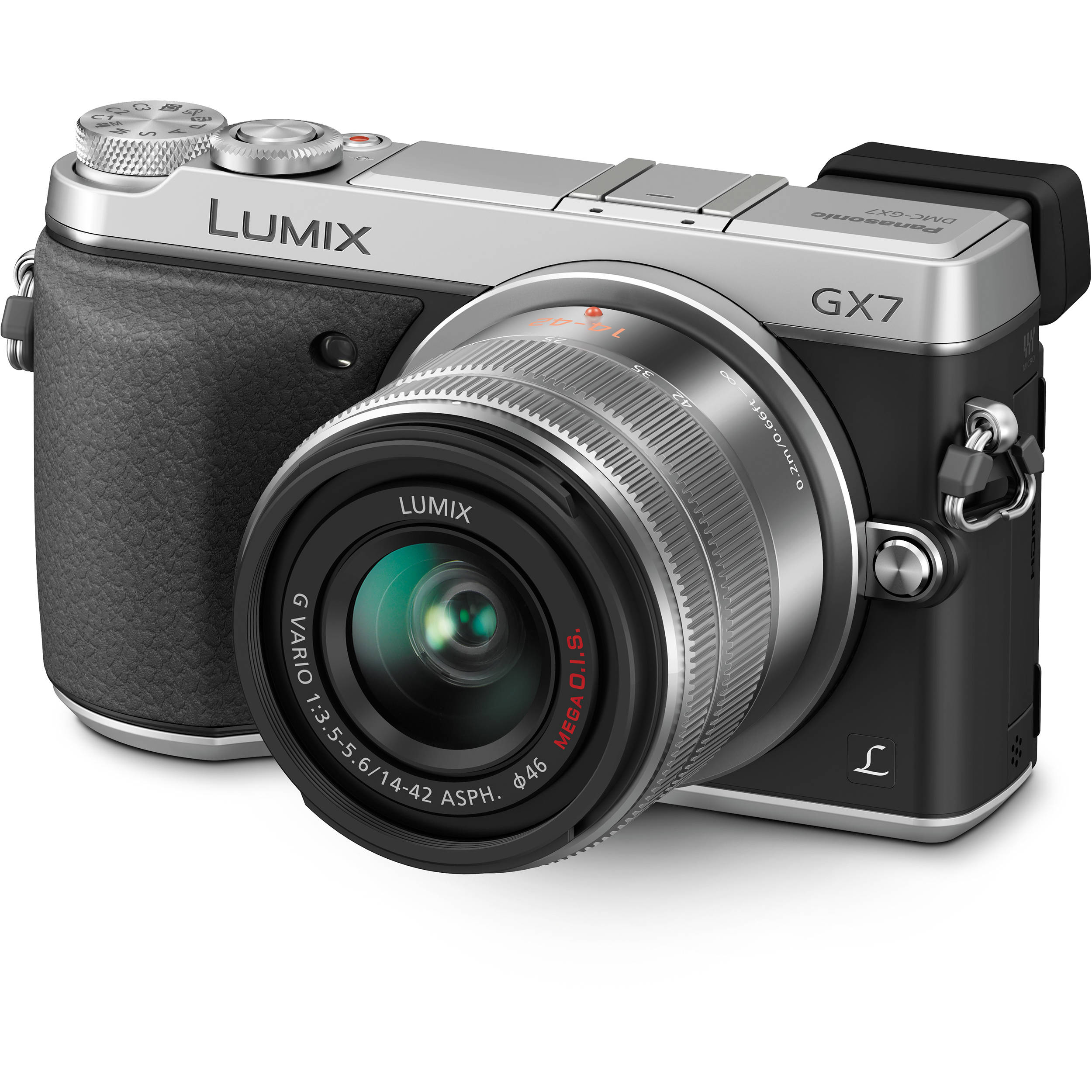 Panasonic LUMIX DMC-G7 silver + 14-140mm F3.5-5.6