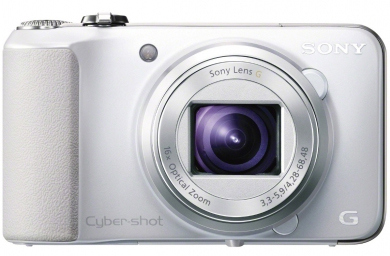 SONY CyberShot DSC - HX10 white