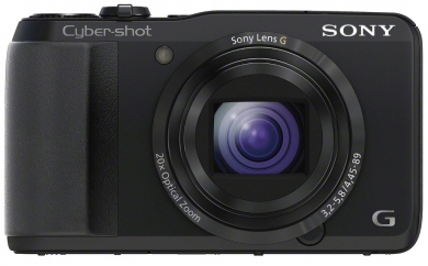 SONY CyberShot DSC - HX20 black