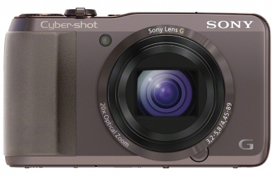 SONY CyberShot DSC - HX20 brown