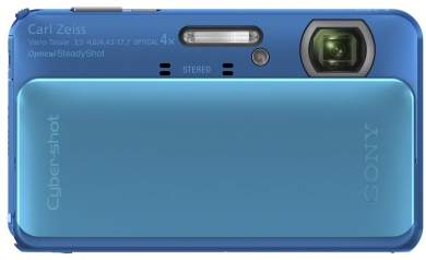 SONY CyberShot DSC - TX20 blue