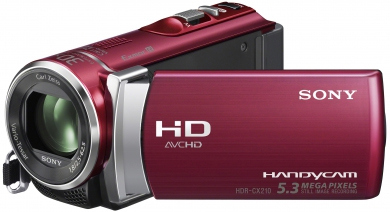 SONY HDR-CX210ER Red