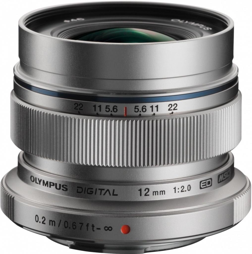 Objektiv Olympus M.ZUIKO ED 12 mm f/2.0 EW silver