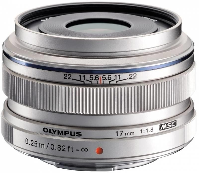 Objektiv Olympus M.ZUIKO 17 mm f/1.8 silver