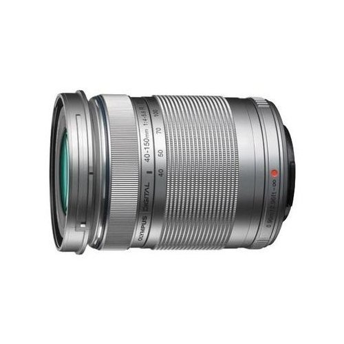Olympus M.Zuiko Digital ED 40-150 mm 1:4.0-5.6 R stříbrný