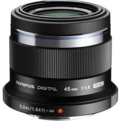 Olympus objektiv 45 mm f1.8 black