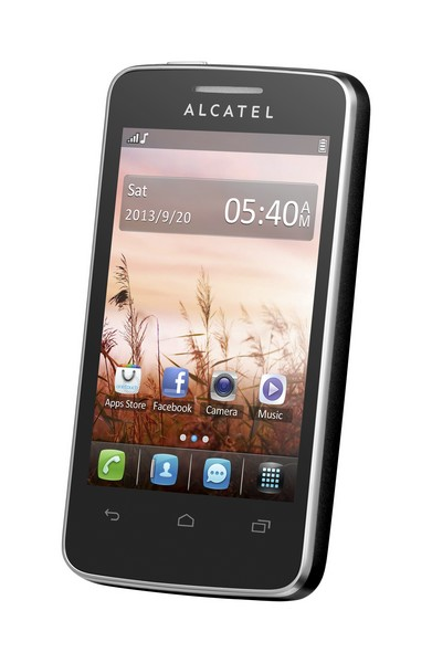 Alcatel One Touch 3040D TRIBE Raven Black