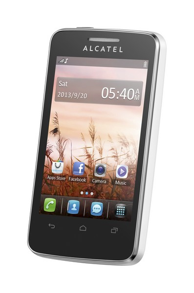 Alcatel One Touch 3040D TRIBE Pure White