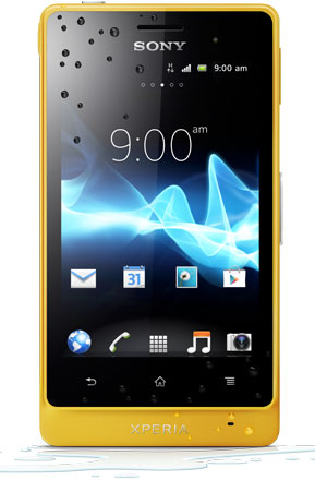 Sony Xperia go Yellow ST27i