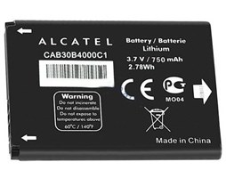 ALCATEL ONETOUCH Baterie 750mAh 2010