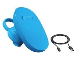 Nokia BH-112U Cyan Bluetooth Headset + CA-190