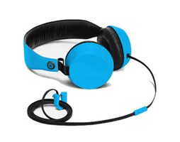 Nokia WH-530 Boom stereo Headset by COLOUD, Cyan