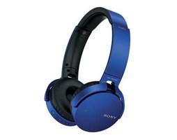 Sony MDR-XB650BT Bluetooth stereo sluchátka, Blue