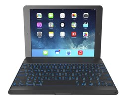 ZAGGkeys Cover Grey Backlit pro iPad Air CZ/SK
