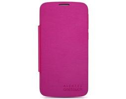 ALCATEL ONETOUCH 7041D POP C7 Flip pouzdro, Pink