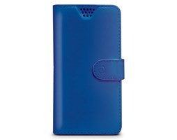 Celly Wally Unica pouzdro PU kůže XXL 5..5.7, Blue
