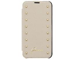 Guess Studded folio pouzdro iPhone 6 Plus, Cream