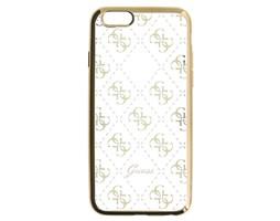 Guess 4G TPU pouzdro Apple iPhone 5/5S/SE, Gold
