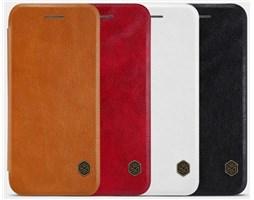 Nillkin Qin Book pouzdro iPhone 7, Red