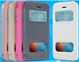 Nillkin Sparkle SView pouzdro iPhone 5/5S/SE, Gold