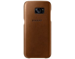 Samsung EF-VG935LD Leather Cover Galaxy S7e, Brown