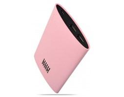 BOX Tablet Charger 6000mAh, 2x USB, 3.1A - růžový