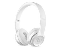 Beats Solo 3 Wireless On-Ear Head. - Gloss White