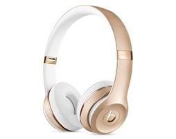 Beats Solo 3 Wireless On-Ear Head. - Gold
