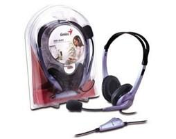 Genius sluchátka s micr. HS-04S