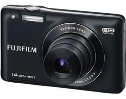 FUJIFILM FinePix JX500 black + Lexar 4 GB SDHC