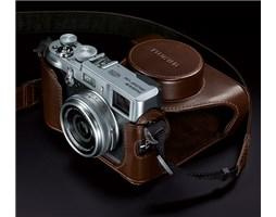 FUJIFILM X100 + softcase brown