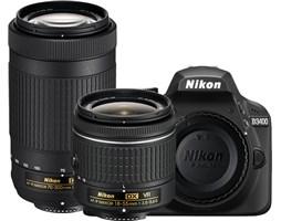 Nikon D3400 + AF-P 18-55 VR + 70-300 VR