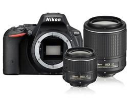 Nikon D5500 + AF-P 18-55 VR + 55-200 VR II