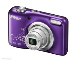 Nikon COOLPIX A10 purple LineArt