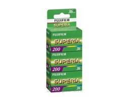 Kinofilm Fuji Superia 200/36 2+1