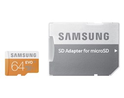 Samsung EVO paměť karta Micro SDHC 64GB (Class 10)
