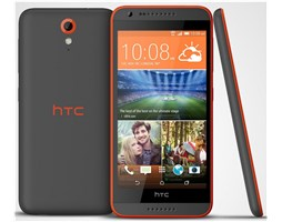 HTC Desire 620G Matte Grey / Orange Trim