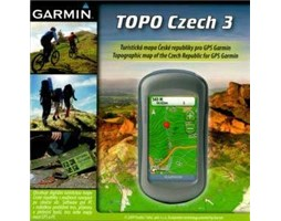 Garmin mapa TOPO Czech Upgrade